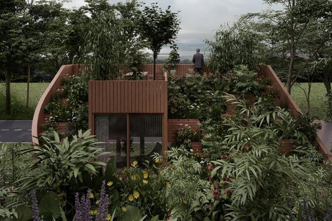 Dom pełen zieleni