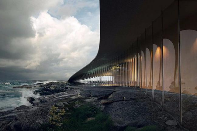 Obserwatorium w kształcie wieloryba