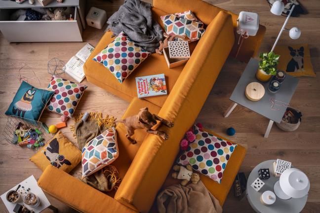 Sofa, która żyje z Tobą