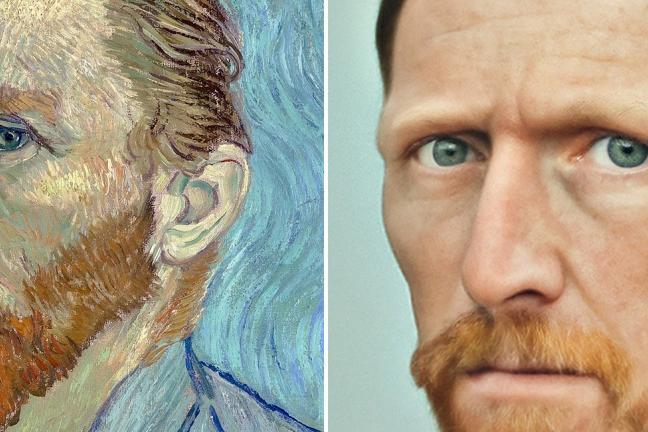 Realistyczne portrety modeli ze znanych dzieł sztuki