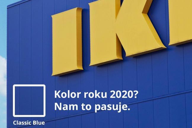 IKEA komentuje wybór koloru roku Pantone