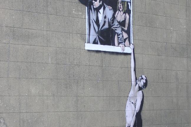 W Warszawie odbędzie się wystawa prac Banksy'ego!