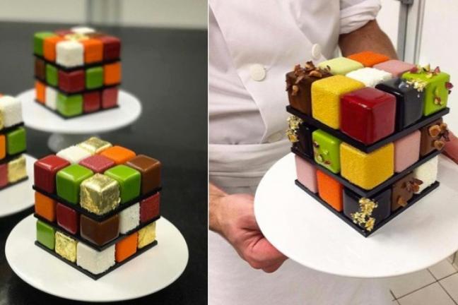 Kostka Rubika do jedzenia