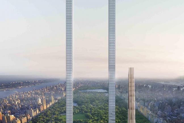 Niezwykły wieżowiec w Nowym Jorku