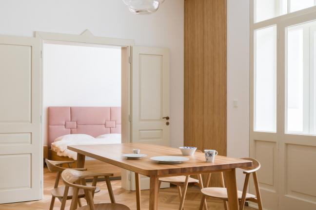 Architektoniczna matrioszka – nietypowe mieszkanie w Pradze