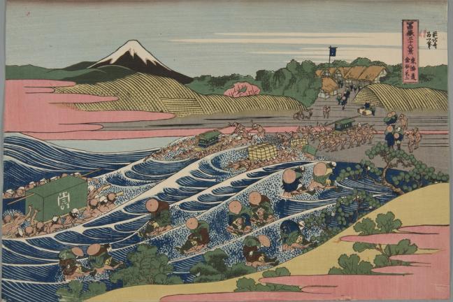 Wystawa Hokusaia w Krakowie