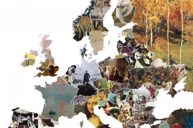 Mapa europejskiej sztuki