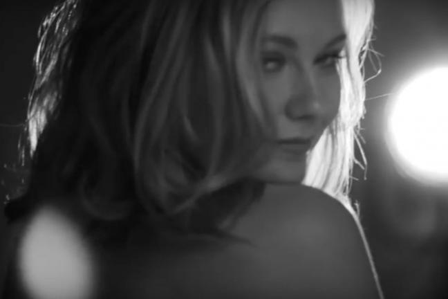 Kirsten Dunst in the Calvin Klein campaign