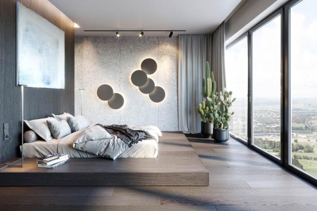 Nastrojowy penthouse