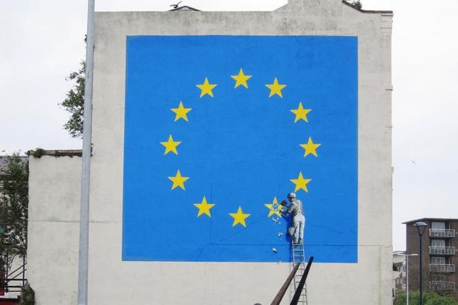 Banksy comments on Brexit