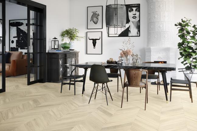 Podłogi w paryskim stylu