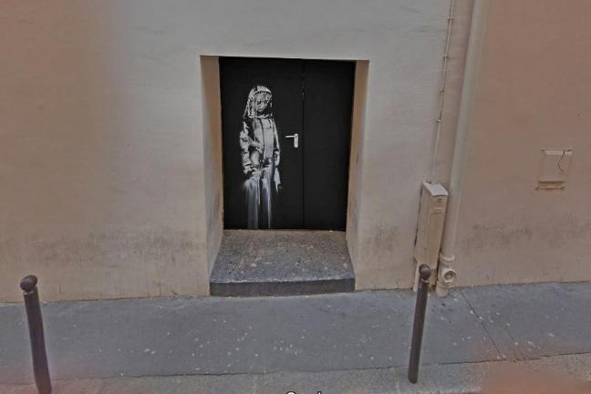 Banksy's work was stolen