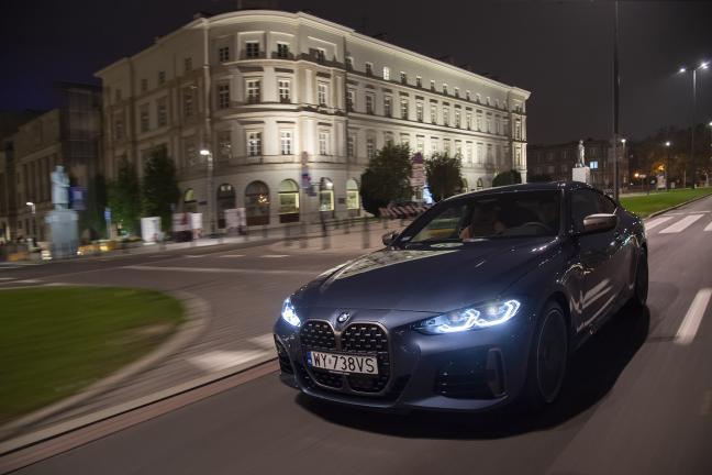 Podwójny debiut w BMW – scenerią nocne ulice Warszawy