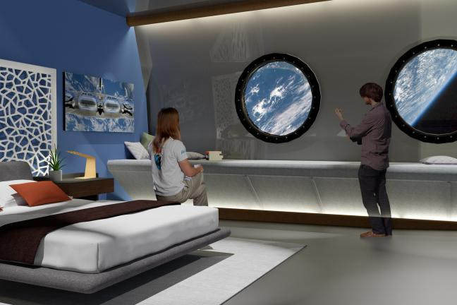 The first space hotel in 2027