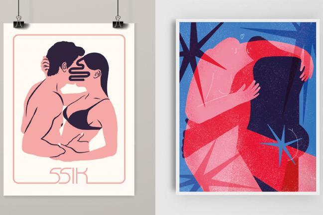 10 plakatów miłosnych od polskich ilustratorów