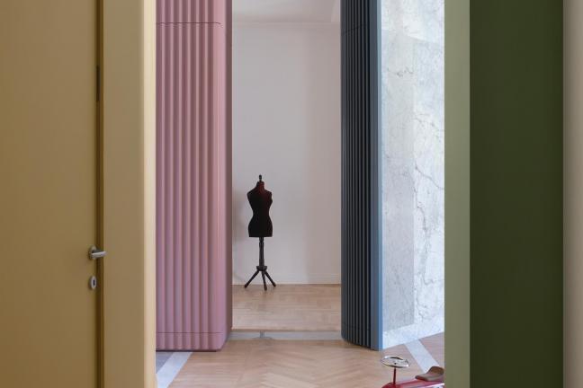 Teatralne mieszkanie w Turynie