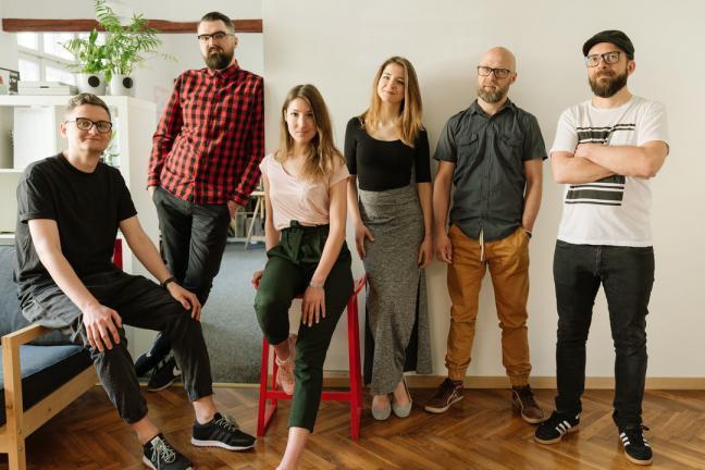 Laureaci konkursu PGD, projektanci ze studia Otwarte.