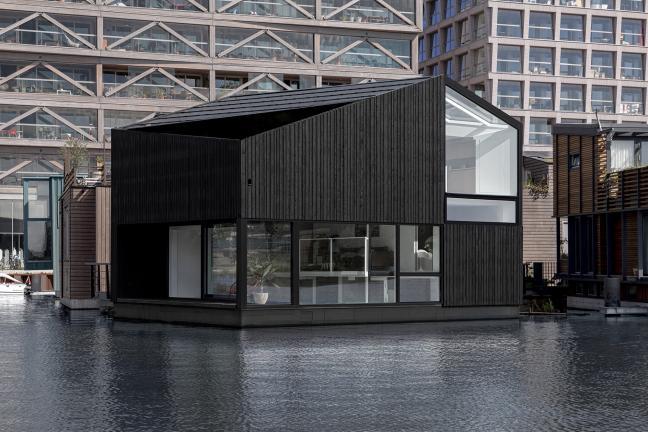Morsowanie w architekturze, czyli budynki na wodzie