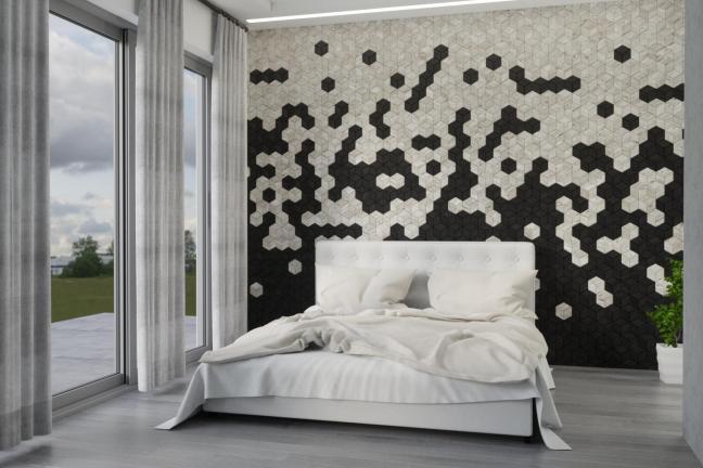 Ściany z drewna inspirowane naturą