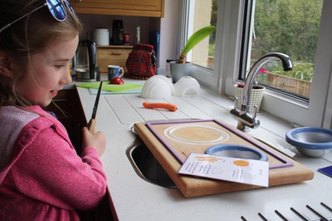 Nóż bezpieczny dla dzieci