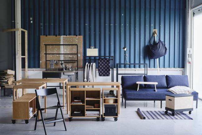 IKEA stworzyła kolekcję dla współczesnych nomadów