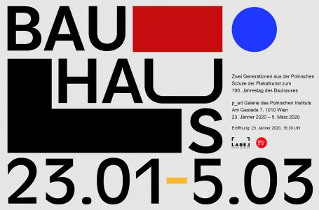 The exhibition of LABEL Magazine x Bauhaus posters in Vienna!