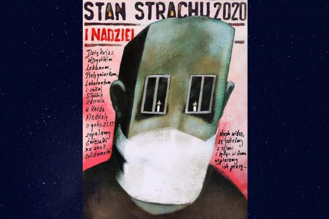 Strach i nadzieja na odświeżonym plakacie Andrzeja Pągowskiego