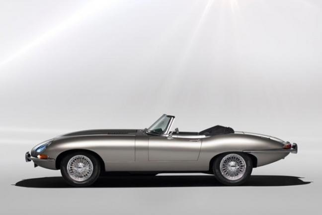 The classic Jaguar E-type returns. And with electric drive!