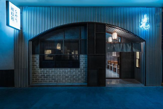 Masquespacio designs Hikari, Yakitori bar