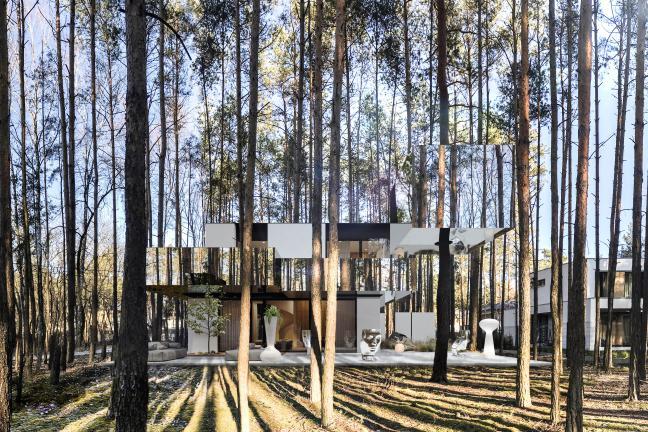 Lustrzane domy – czy naprawdę są z luster?