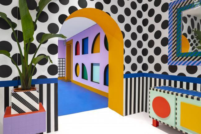 Camille Walala prezentuje dom z Lego