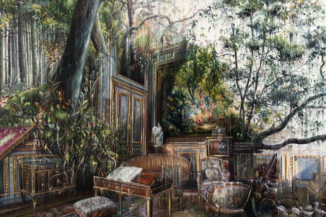 Malownicze spotkanie architektury i natury