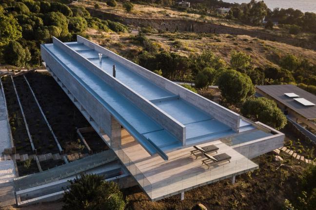 Niezwykły dom w Chile