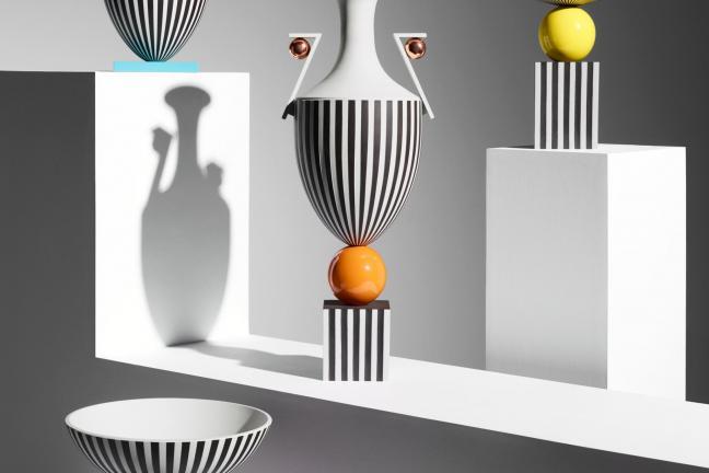 Porcelana Wedgwood inspirowana postmodernizmem