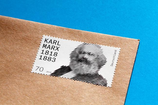 Znaczki z Marksem