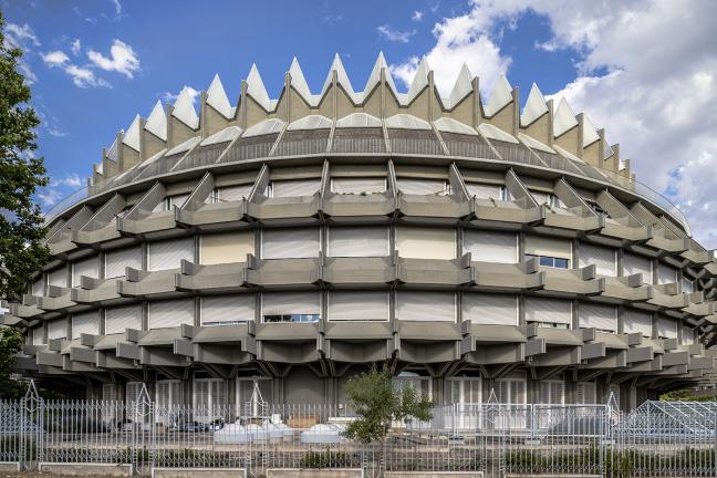 Brutalism in Madrid
