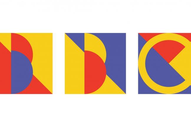 Logo inspired by Bauhaus
