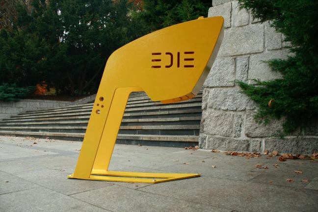 EDIE – sprytne stojaki rowerowe polskiego wynalazcy