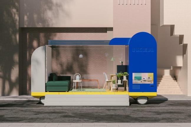 Autonomiczny samochód-hotel od IKEA
