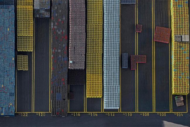 Tetris ze skrzynek