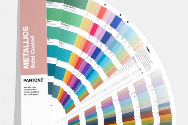 Pantone stawia na metaliczne kolory!