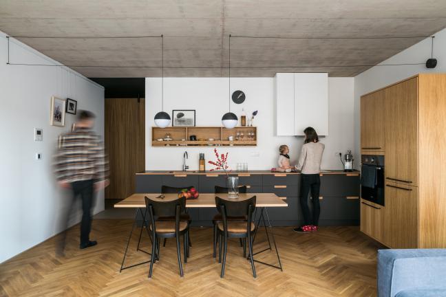 Prosto i funkcjonalnie, czyli mieszkanie dla rodziny