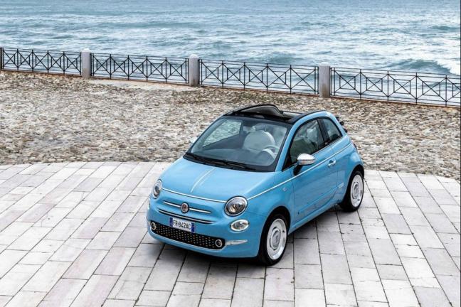 Fiat 500 Spiaggina in the new version