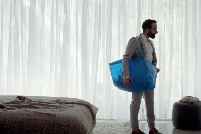 IKEA celebruje swoją niebieską torbę