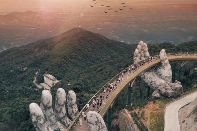 Niezwykły most w Wietnamie