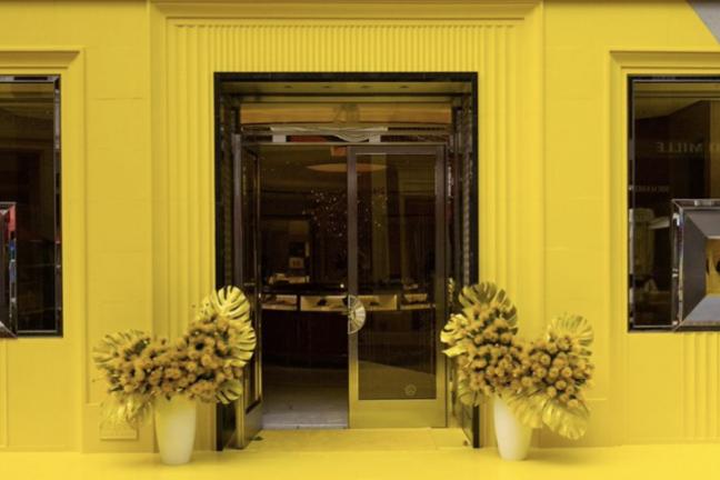 Tiffany & Co stawia na żółć!