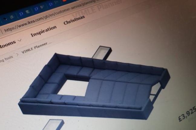 Klienci IKEA tworzą zaskakujące projekty kanap