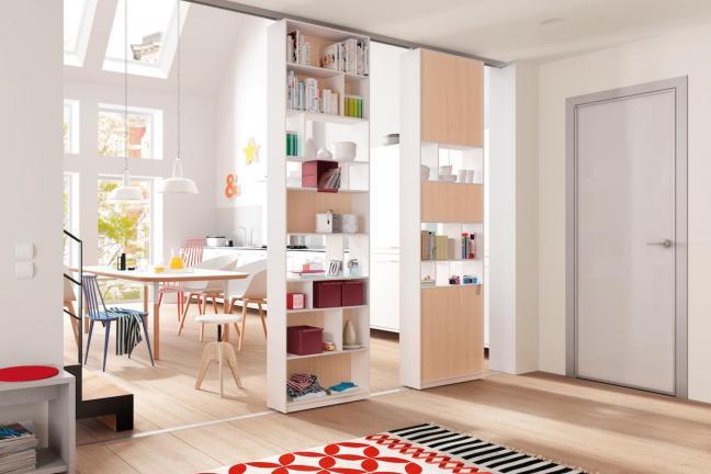 Duże szafy w małych mieszkaniach