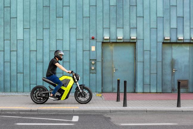Pierwszy polski motocykl elektryczny drukowany w 3D