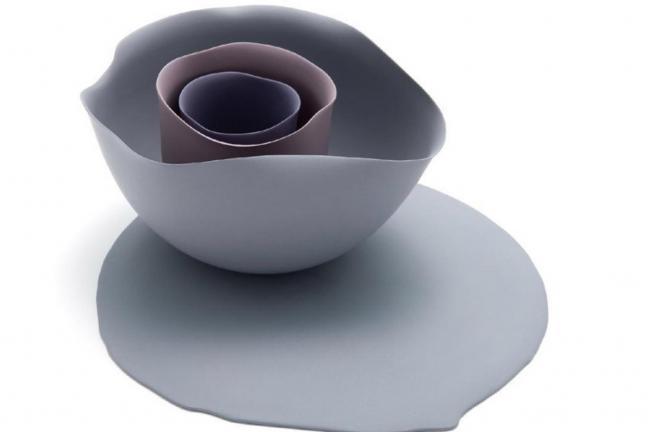 Ceramika inspirowana obrazami Georgii O'Keeffe